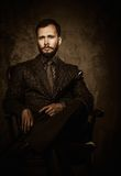 Handsome well-dressed man Royalty Free Stock Images