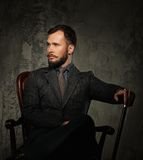 Handsome well-dressed man Royalty Free Stock Photography