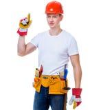 Handsome worker man Stock Photos