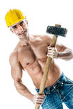 Handsome worker Royalty Free Stock Images