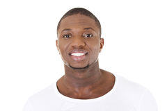 Handsome younf african american man Stock Photo