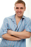 Handsome young adult man portrait Royalty Free Stock Photography