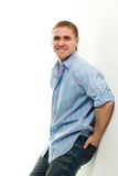 Handsome young adult man portrait Stock Photo