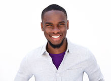 Handsome young african american guy Royalty Free Stock Photo