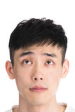 Handsome young asia man - isolated over a white background Stock Photo