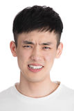 Handsome young asia man - isolated over a white background Stock Photography
