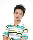 Handsome young asian guy 9 Stock Image