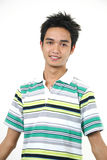 Handsome young asian guy 9 Royalty Free Stock Image