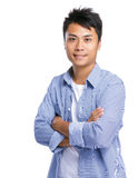 Handsome young asian man Royalty Free Stock Photo