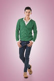 Handsome young Asian man Royalty Free Stock Photography