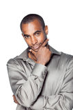 Handsome young black man Royalty Free Stock Photo