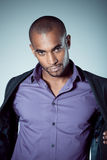 Handsome young black man Royalty Free Stock Photos