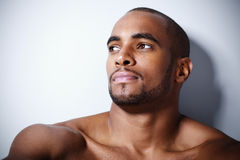 Handsome young black man Royalty Free Stock Image