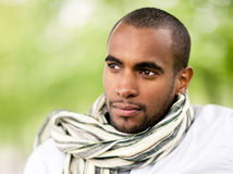 Handsome young black man Royalty Free Stock Images