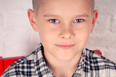 Handsome young boy Royalty Free Stock Images