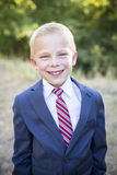 Handsome Young Boy Portrait Royalty Free Stock Photography