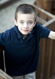 Handsome young boy portrait Royalty Free Stock Photo
