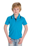 Handsome young boy Royalty Free Stock Photos