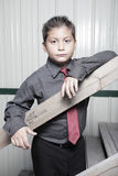 Handsome young business boy Royalty Free Stock Photos