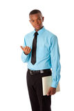 Handsome young business gentleman royalty free stock images
