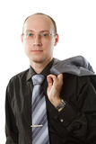 Handsome young business man Stock Photo