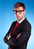Handsome young business man Royalty Free Stock Photo