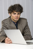 Handsome young business man Stock Photography