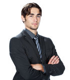 Handsome young businessman Stock Images