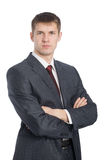 Handsome young businessman Royalty Free Stock Photo