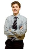 Handsome young businessman Stock Photography