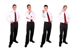 Handsome Young Businessman Stock Image