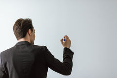 Handsome young businessman Stock Photos