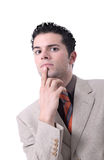 Handsome young businessman portrait Stock Photography