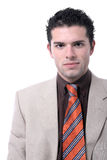 Handsome young businessman portrait Stock Photos