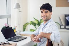 Handsome young businessman Royalty Free Stock Photography