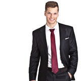 Handsome young businessman Royalty Free Stock Images