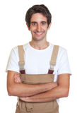 Handsome young carpenter Royalty Free Stock Photo