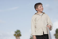 Handsome young child Royalty Free Stock Images