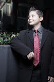 Handsome young child smiling Royalty Free Stock Photo