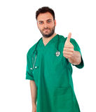 Handsome young doctor Stock Photo