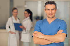Handsome young doctor Royalty Free Stock Photo