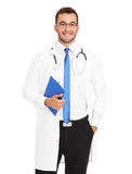 Handsome young doctor Royalty Free Stock Images