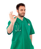 Handsome young doctor Stock Photography