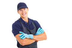 Handsome young farmer portrait Royalty Free Stock Photo