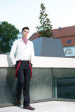 Handsome young fashion male model Royalty Free Stock Images