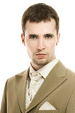 Handsome young groom Royalty Free Stock Photography