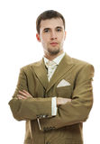 Handsome young groom Royalty Free Stock Images