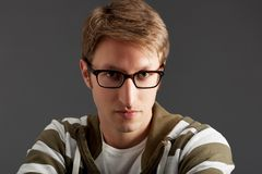 Handsome young guy portrait Royalty Free Stock Photos