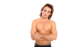 Handsome young guy stock image