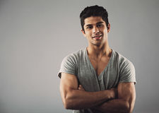 Handsome young hispanic model Royalty Free Stock Photo
